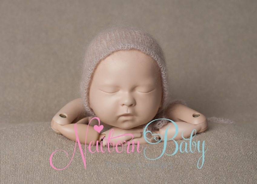 Plain Knit Fabric Backdrop | Newborn Baby Posing Limited